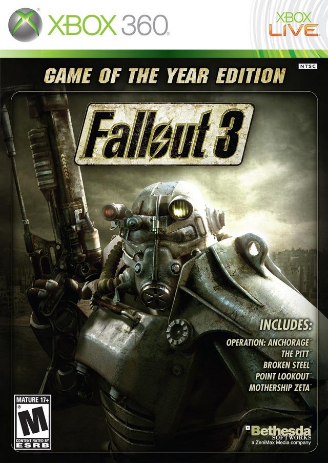 Fallout 3 (2009) Xbox 360
